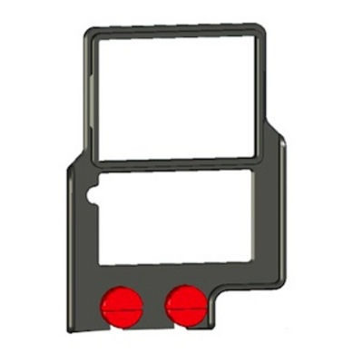 Zacuto Z-Finder Mounting Frame voor tall DSLR