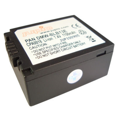 Panasonic DMW-BLB13E accu (Merk Jupio)