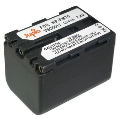 Sony NP-QM71 / NP-FM70 accu (Merk Jupio)