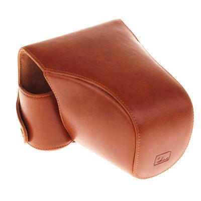 ONE OC-NX10Y Leathercase Bruin voor de Samsung NX10/NX100