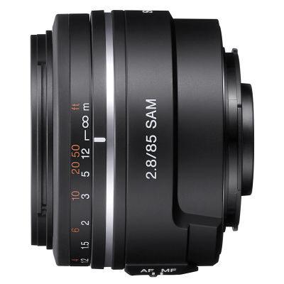 Sony 85mm f/2.8 SAM objectief