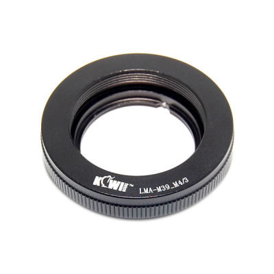 Kiwi Photo Lens Mount Adapter (M39-M4/3)