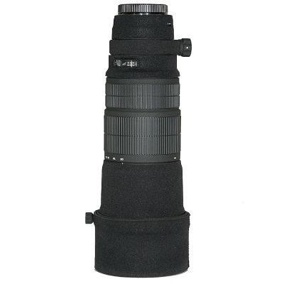 LensCoat voor Sigma 120-300 Zwart