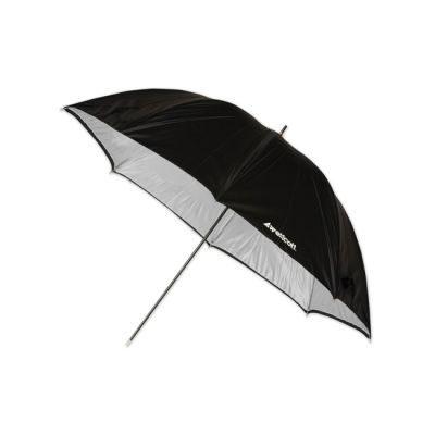 Westcott 2006 (114cm/45 Inch) Soft Silver Paraplu