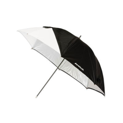 Westcott Opvouwbare Paraplu Optical White Satin + afneembare hoes (81cm / 32 inch)