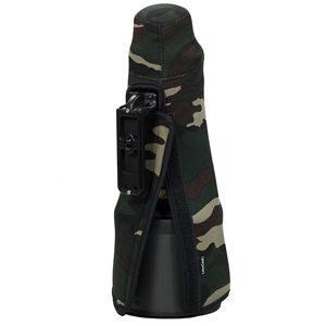 TravelCoat voor Nikon 70-200 VR/VRII - Legergroen