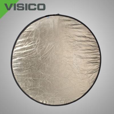 Visico Reflectiescherm Lite Disk Softsun & zilver (RD-023) 120 x 180cm