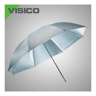 Visico Paraplu UB-004 Wit/zilver 80cm