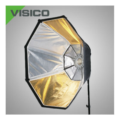 Visico SB-036 Octabox ø 95cm VC series with reversible Silver/Golden inside