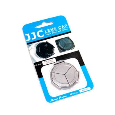JJC ALC-5W Automatische Lensdop voor Panasonic DMC-LX5 Wit