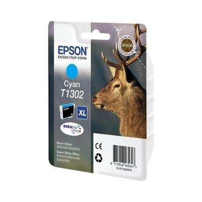 Epson Inktpatroon T1302 Cyaan (origineel)