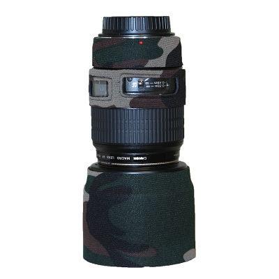 LensCoat voor Canon 100/2.8 Macro Legergroen