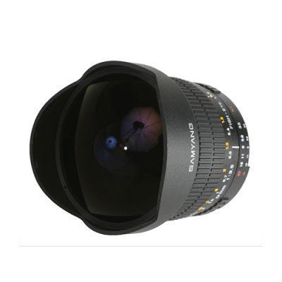 Samyang 8mm f/3.5 Fisheye CS MC Samsung NX objectief Zwart