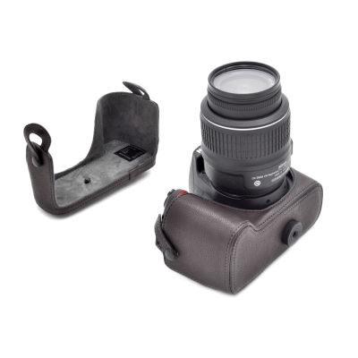 ONE OS-D3000R Leathercase voor de Nikon D3000