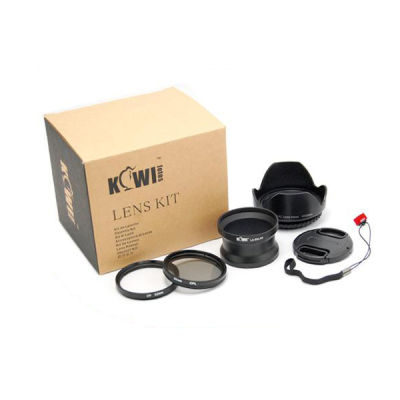 Kiwi Lens Adapter Kit voor Panasonic DMC-LX5