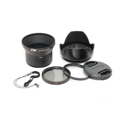 Kiwi Lens Adapter Kit voor Sony DSC-HX1 - 58mm