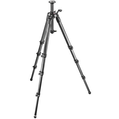 Manfrotto MT057C4-G Carbon Tripod 4 Sections Gear