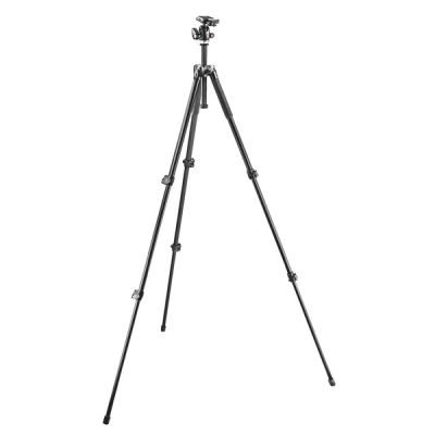 Manfrotto 293 Aluminium 3 Sections Kit + RC2 kop