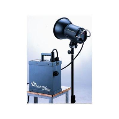 Linkstar DP-600BP Power Pack + DH-600 flitser, 600Ws