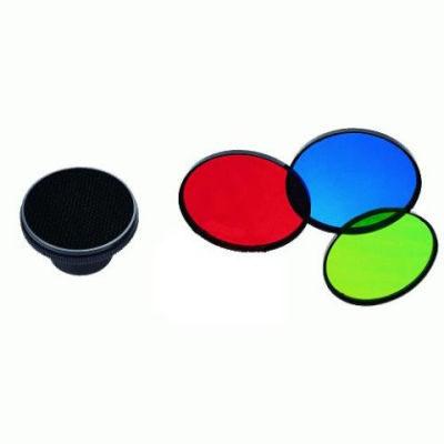 Linkstar Honingraat MSA-HC + 3 Kleurenfilters voor MS Serie