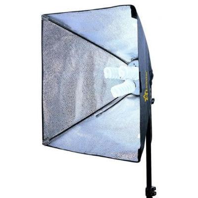 Linkstar Daglichtlamp FLS-3280SB6060 3x40W Softbox 60x60 cm