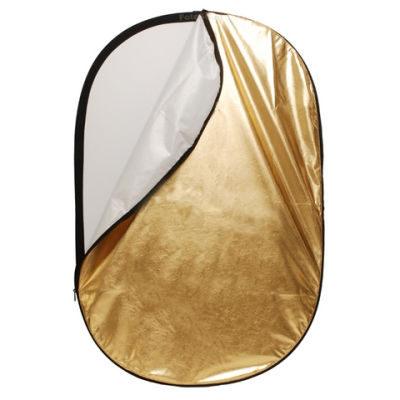 Linkstar Reflectiescherm 2 in 1 R-90120GS Goud/Zilver 90x120 cm