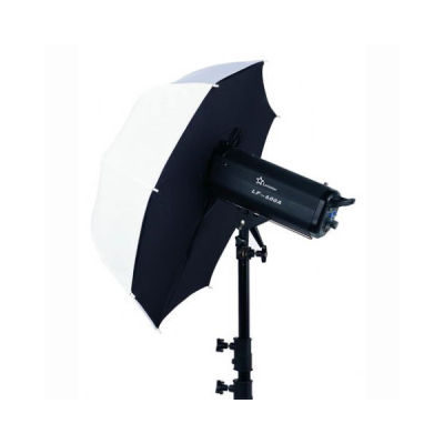 Linkstar Flitsparaplu Softbox Diffuus Wit URF-102L 90 cm