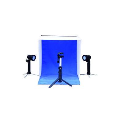 Linkstar Opnamebox Set PBK-50 50x50 Opvouwbaar + 2x 50W Lampen