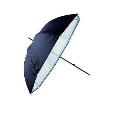 Linkstar Flitsparaplu PUK-102WB Wit/Zwart Wit 120cm