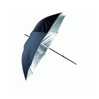 Linkstar Flitsparaplu PUR-84SB Zilver/Zwart 100cm