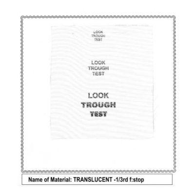 Sunbounce Screen Translucent -1/3rd voor Mini