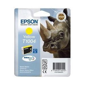 Epson Inktpatroon T1004 Geel (origineel)