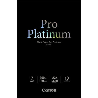 Canon PT-101 Pro Platinum Photo Paper A3+ 10 sheets