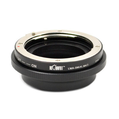 Kiwi Photo Lens Mount Adapter LMA-SM(A)-M4/3