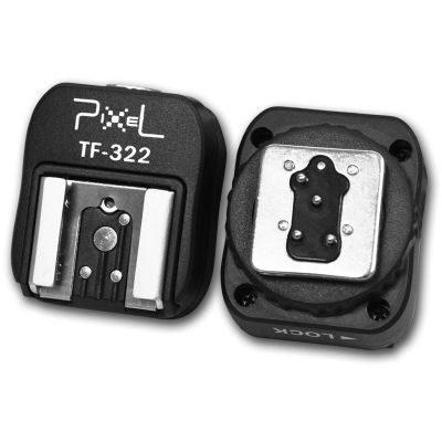 Pixel TF-322 Hotshoe converter voor Nikon