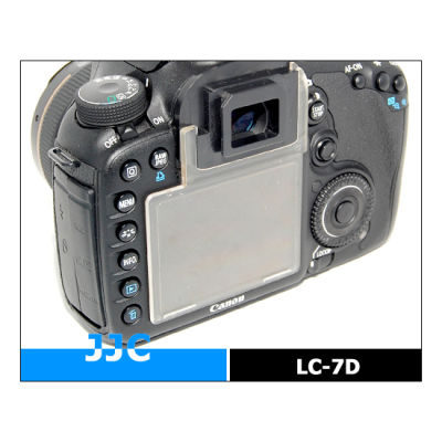 JJC LC-7D LCD Cover voor Canon EOS 7D