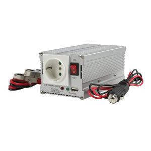 HQ Omvormer 300W met USB (12-230V)