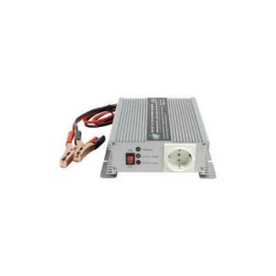 HQ Omvormer 600W met ingebouwde lader (24-230V)