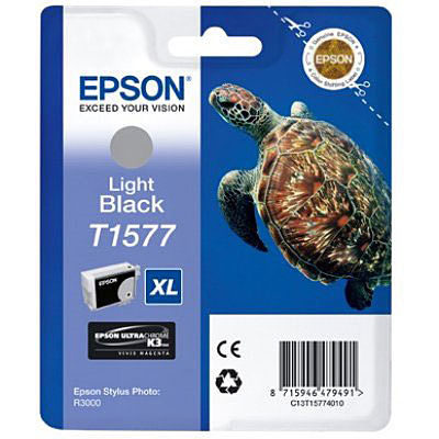 Epson Inktpatroon T1577 Light Black (origineel)
