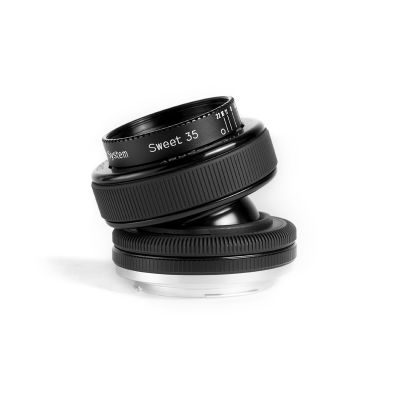 Lensbaby Composer Pro met Sweet 35 Optic Olympus objectief