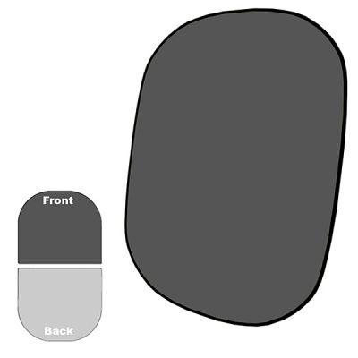 Savage 2-zijdige Opvouwbare Achtergrond Kit 152 x 183cm (Dark Grey/Light Grey)