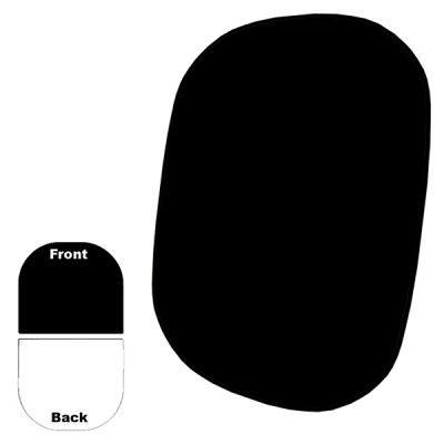 Savage 2-zijdige Opvouwbare Achtergrond Kit 152 x 183 cm (Black/White)
