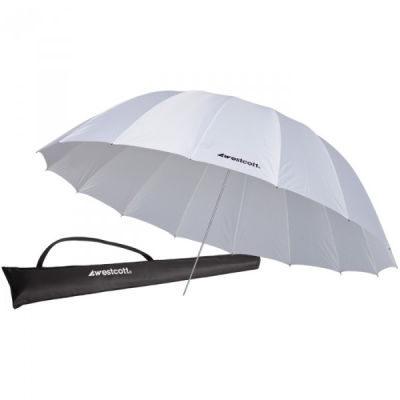 Westcott 4632 White Diffusion Parabolic Umbrella (213cm/7')