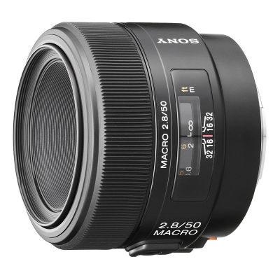 Sony 50mm f/2.8 Macro objectief