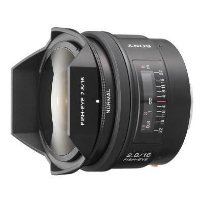 Sony 16mm f/2.8 Fisheye objectief