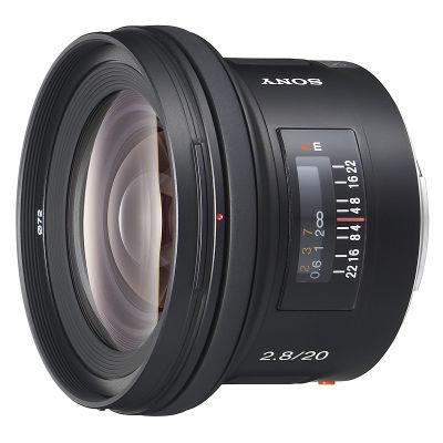 Sony 20mm f/2.8 objectief
