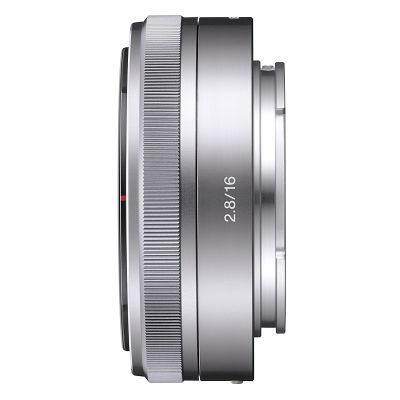 Sony NEX 16mm f/2.8 objectief