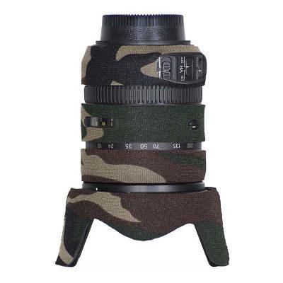 LensCoat voor Nikon 18-200 VRII Legergroen