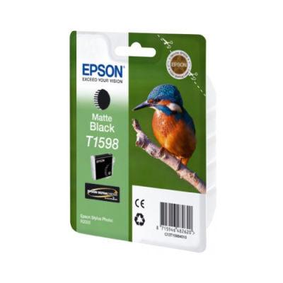 Epson Inktpatroon T1598 Matte Black (origineel)
