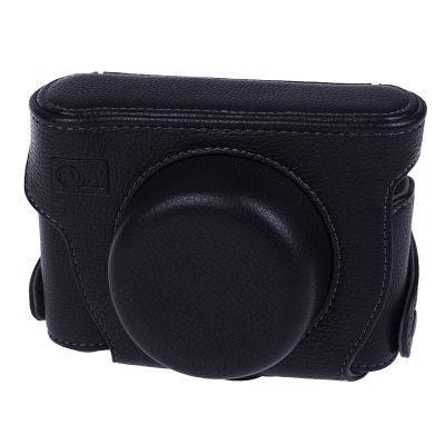 ONE OC-GF2B Leathercase Zwart voor Panasonic DMC-GF2